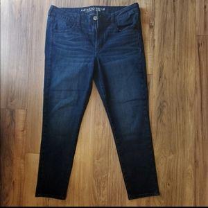 AE American Eagle skinny jeans 12S